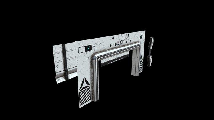 Scifi Assets Collection Vol.2 3D Model