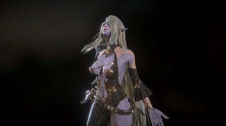 Darkelf Appear 3D Model
