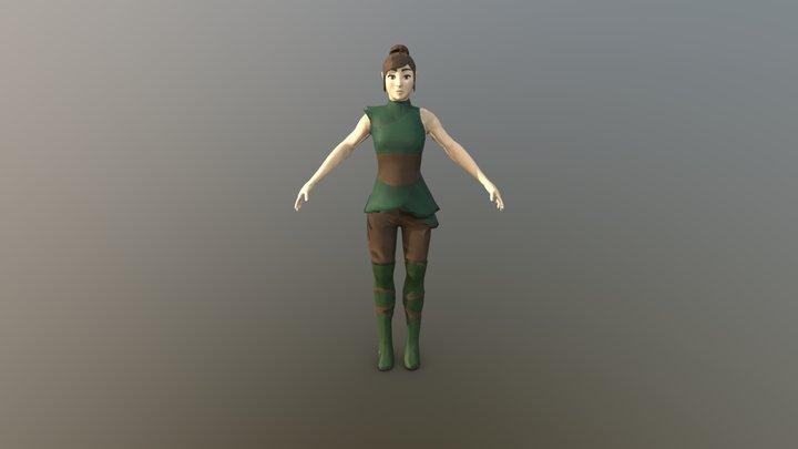 Faedrana 3D Model