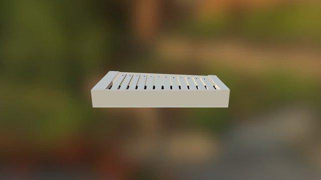 shallow marimba 3D Model