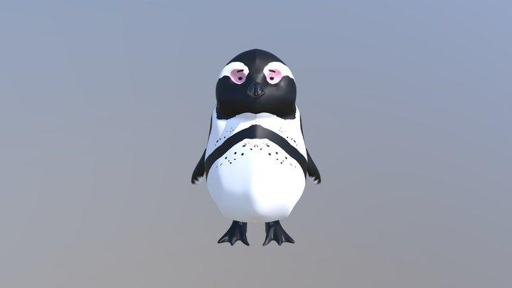 Penguin 01 3D Model