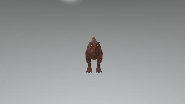 Carnotaurus WIP 3D Model