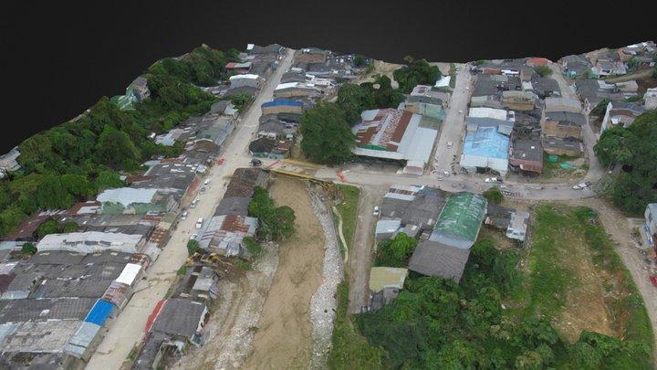 Mocoa Puente rio mulato 3D Model