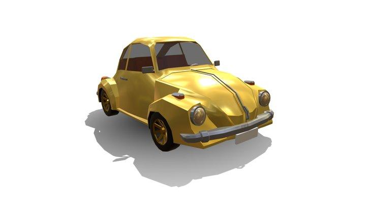 Low Poly | Volkswagen Beetle 3D Model