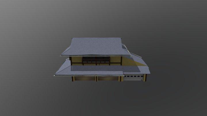 Kyoto House 3D Model