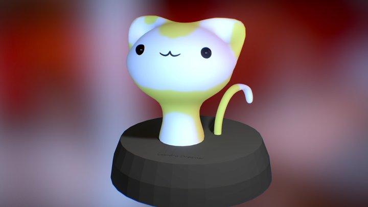 Cat Cute 3D Model