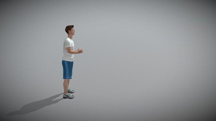 Underhand Throw 3D Model