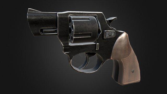 Rg59 revolver 3D Model