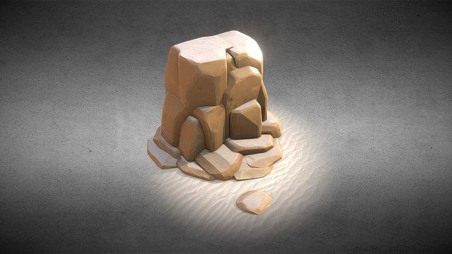 Desert Tile 3D Model