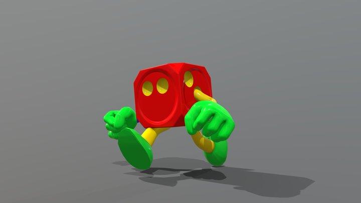 Mr. Dice (Donkey Kong 64) 3D Model