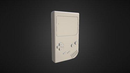 Original Game Boy 3D Model