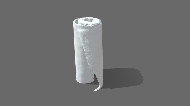 Paper Towel Roll 3D Model