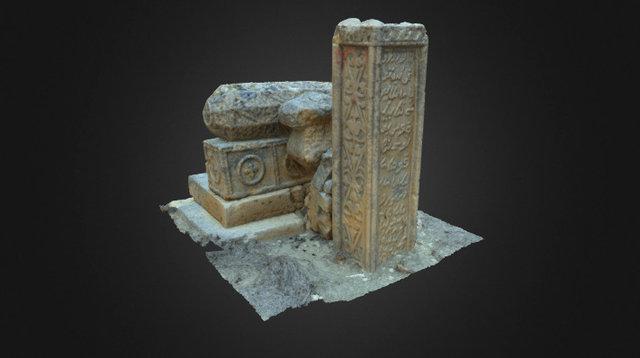 Kazakh grave (1854-1889). 3D Model