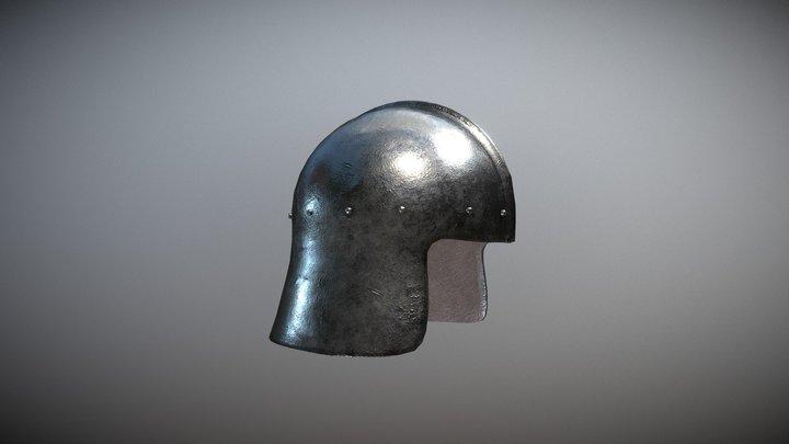 Helmet - Archery 3D Model