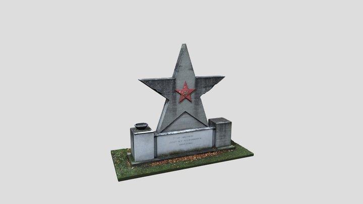 SOVIET MEMORIAL STOCKERAU FINAL 3D Model