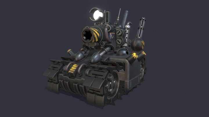 Super Vehicle - 001 3D Model