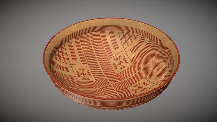 Handmade painted ware, 8th century B.C. 3D Model