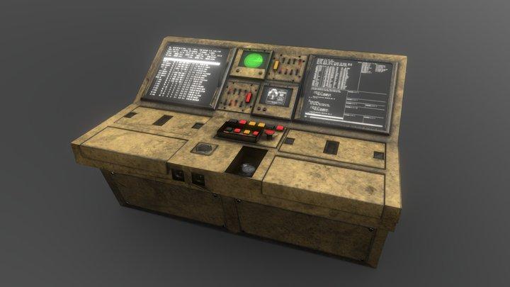 Computer #4 3D Model