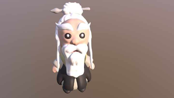 PAI MEI (White Brow) From KILL BILL 3D Model
