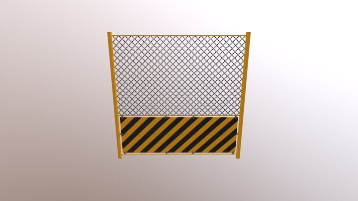 SM Fence 02T 3D Model