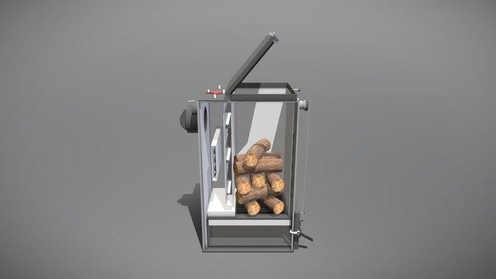 Котел Холмова 3D Model