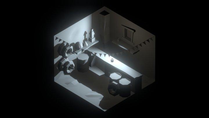 Quant Store 3D Model