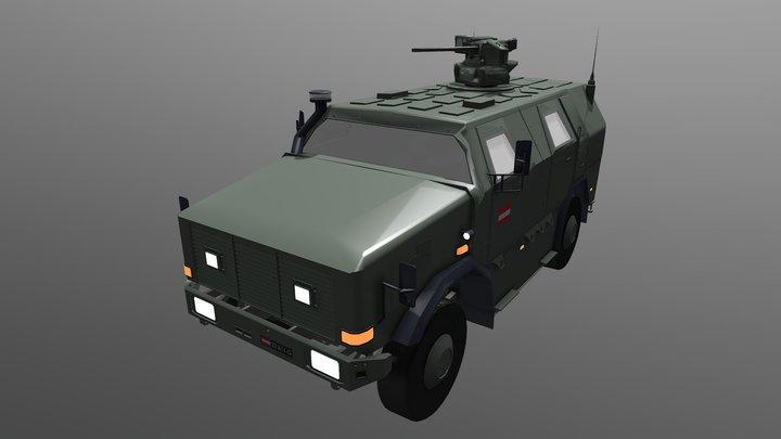 Dingo 2 MIL (AUT) 3D Model