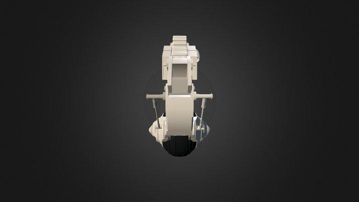 Steampunk Personal Excavator 3D Model