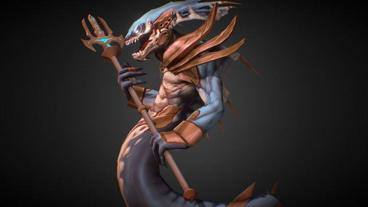 Naga Tough 3D Model