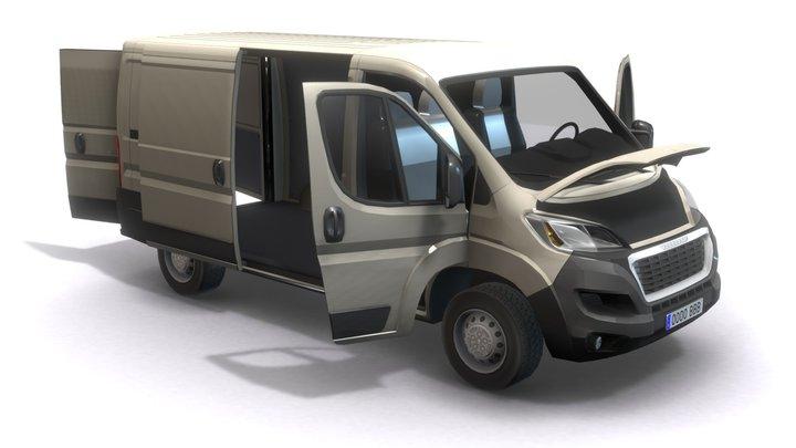 Peugeot Boxer 3D Model