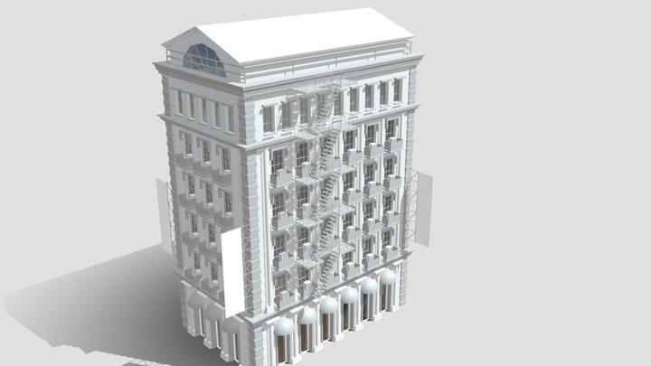 Commercial Building B 4 3D Model