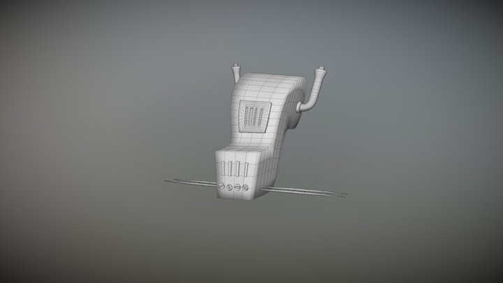 Oven Jr. (Insects) 3D Model