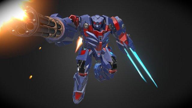 Atlas Offensive 3D Model