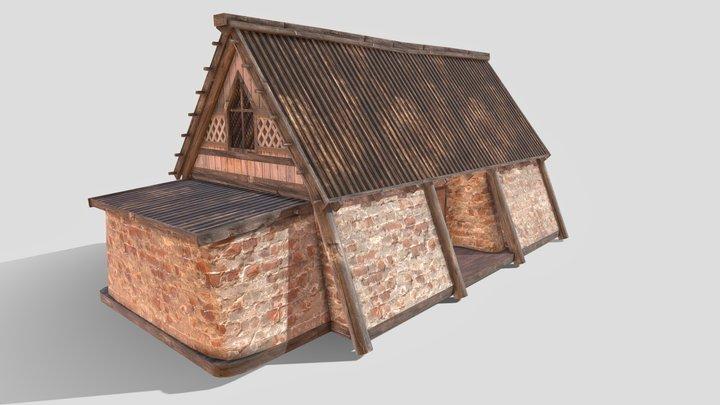 Medieval Home 3D Model