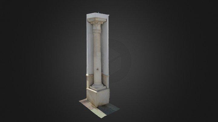 Columna esquinera de Osuna 3D Model