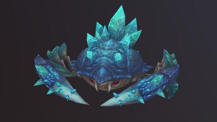 crystal crab 3D Model