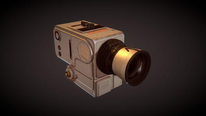 Hasselblad 500 EL 3D Model