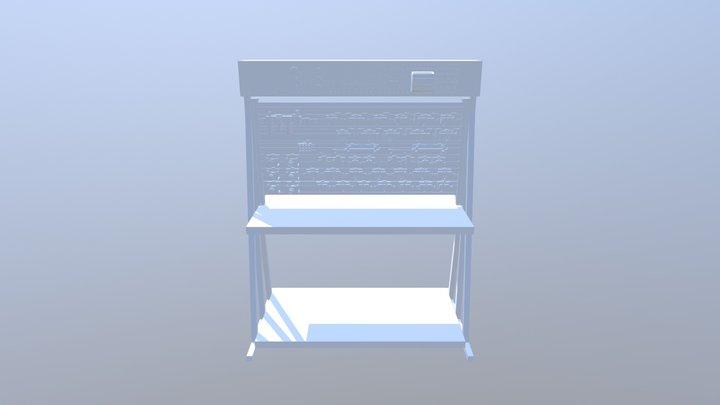 Modulo De Entrenamiento De Neumatica  3D Model