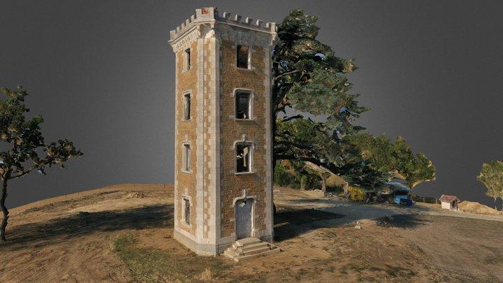 Tour Sainte-Euph 3D Model