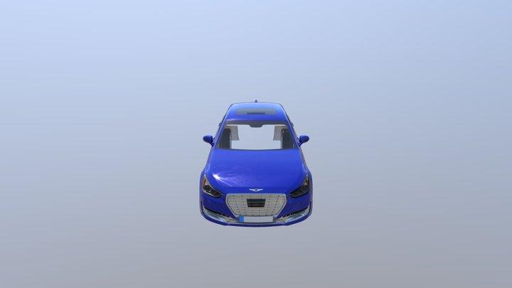 car_glTF_test 3D Model