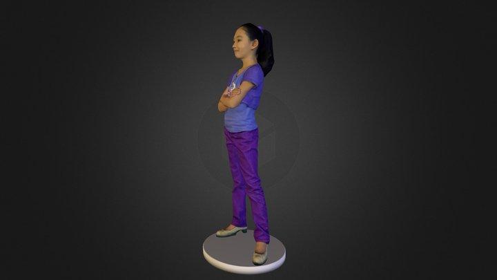 Isha 3D Model