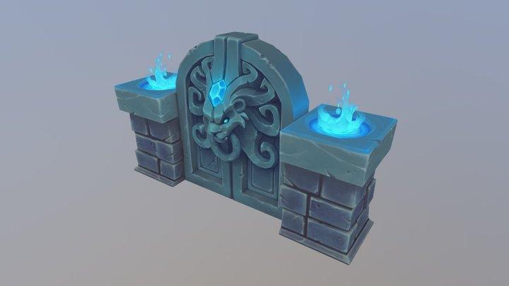 Lion's Gate 3D Model