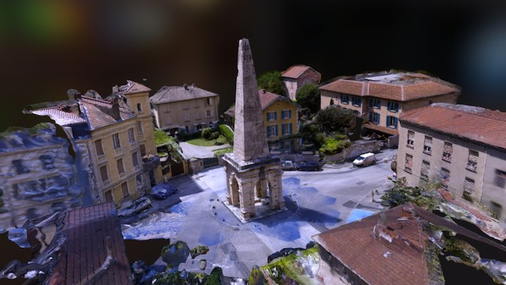 La Pyramide 2.0-Vienne - Basse définition 3D Model