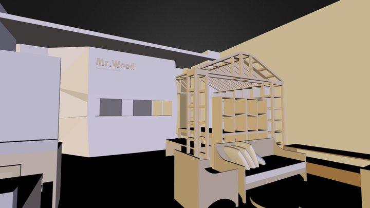 mr.wood design studio 3D Model