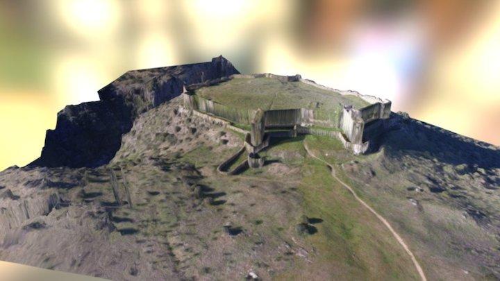 Castillo de San Martin de Montalban 3D Model