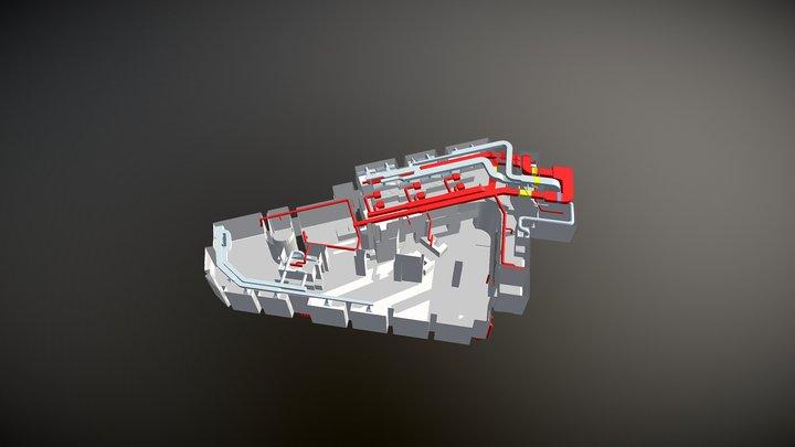 Ventilacija 3D Model