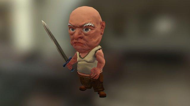 Eco Tales Villain 3D Model