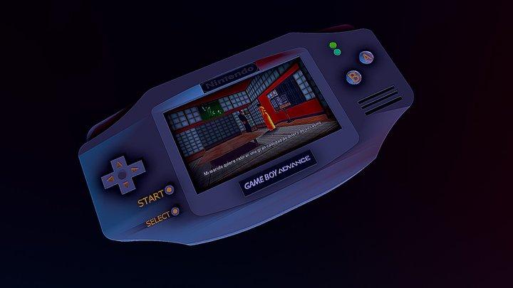 Game Boy Advance 3D Model