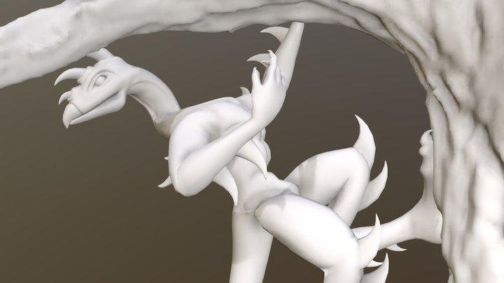 Hork Bajir - Posed 3D Model