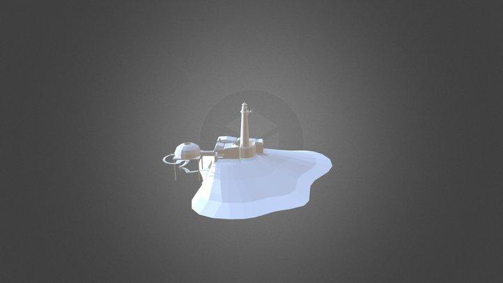 Strange Manor Layout Full 3D Model